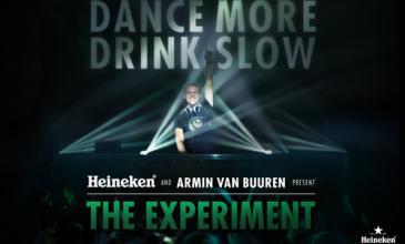 """""""Dance More, Drink Slow"""": Armin van Buuren y Heineken impulsan un consumo responsable"""