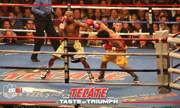 Mayweather – Pacquiao: ganó el boxeo con Tecate