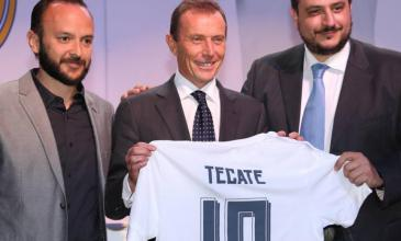Tecate acerca el Real Madrid a los fans mexicanos con su patrocinio