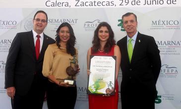 Heineken México recibe reconocimiento por excelencia ambiental