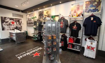 Inauguramos Heineken Store en Monterrey con productos exclusivos de nuestras marcas